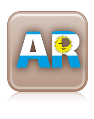 logo extension .COM.AR (gent)