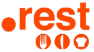 logo extension .REST (restaurant)
