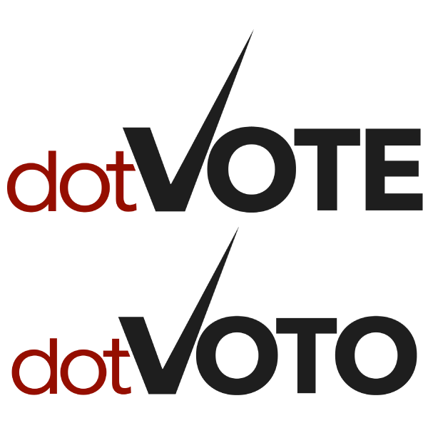 logo extension .VOTO (vote/offrande)