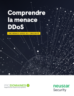 Comprendre la menace DDoS