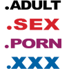 logos des extensions adultes Minds+Machine .ADULT .SEX .PORN .XXX