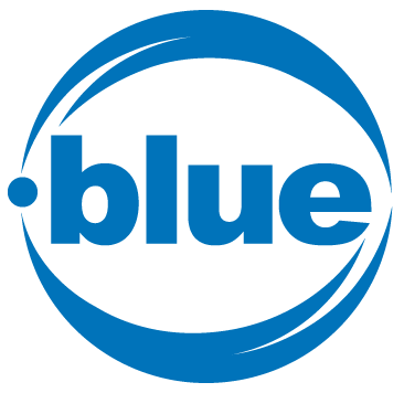 logo extension .BLUE (bleu)