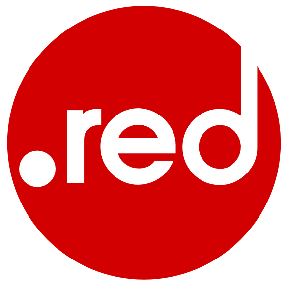 logo extension .RED (rouge)