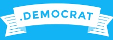 logo extension .DEMOCRAT (démocrate)