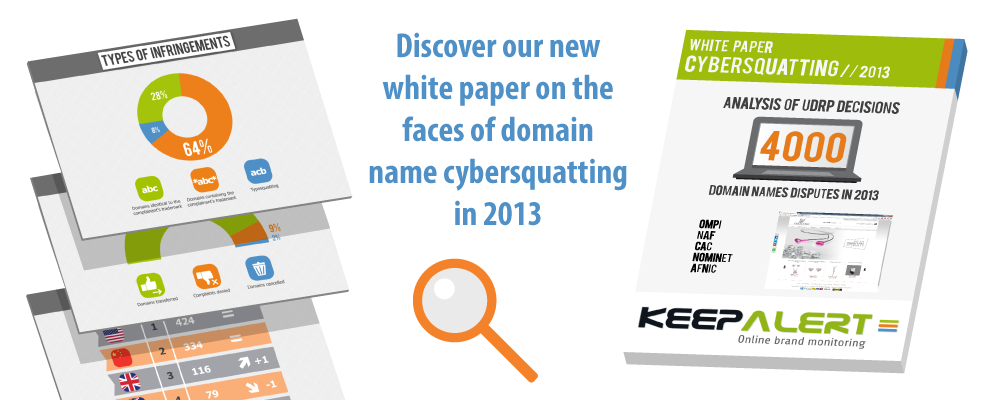 Keep Alert's white paper on cybersquatting